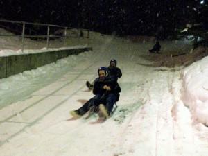 WordCamp-Norway-sledding