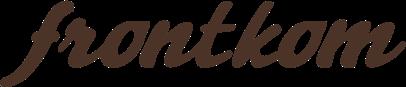frontkom logo brown