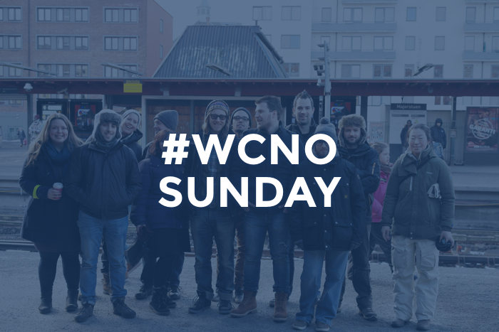 Sunday at #WCNO